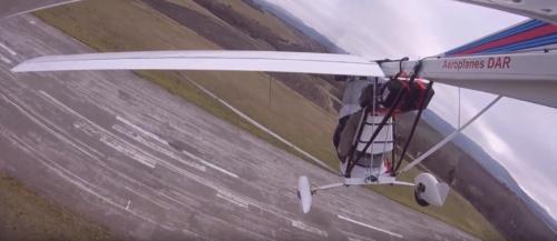 over runway